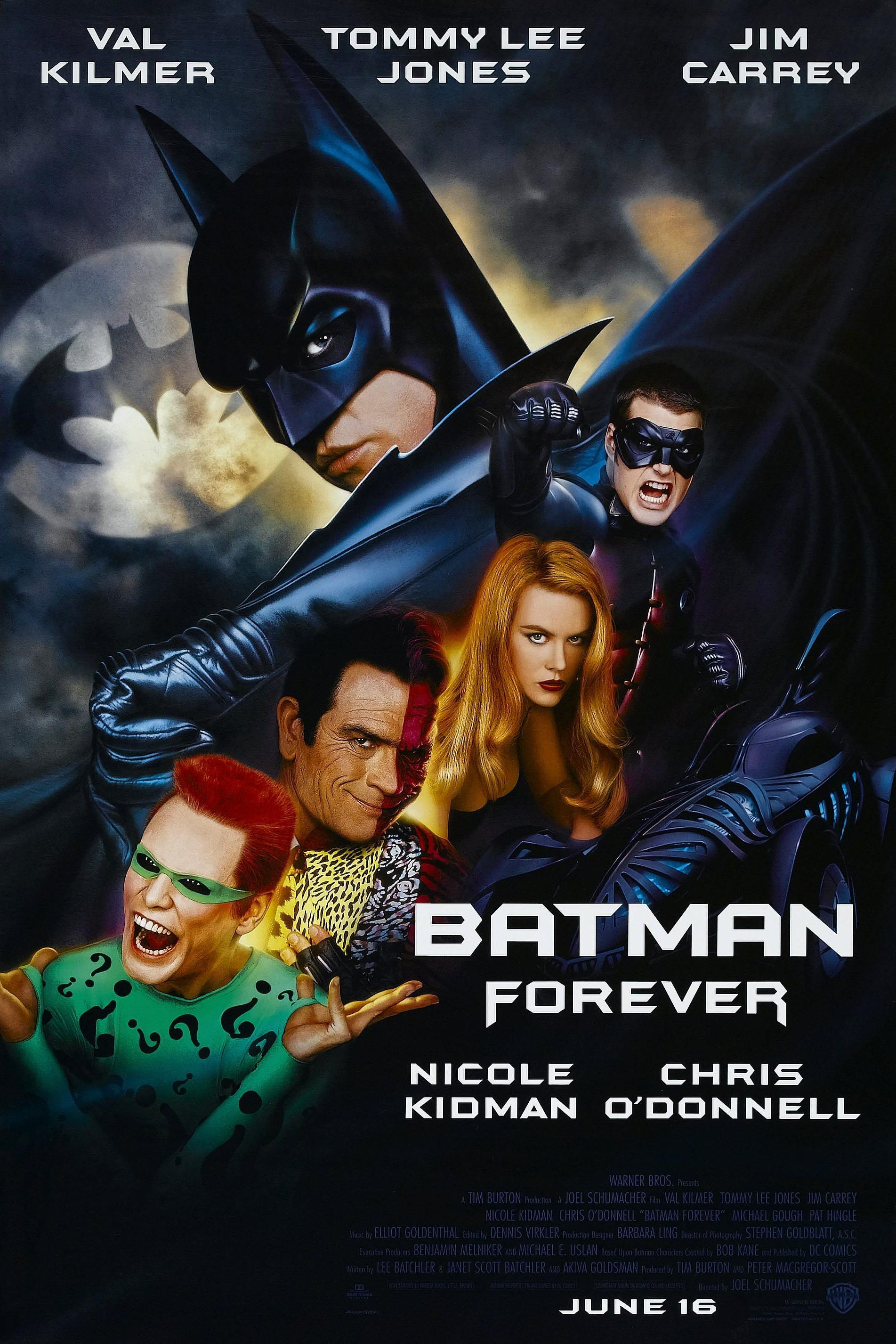 "Road to 'The Dark Knight Rises' – ""Batman Forever"" (1995 ..."